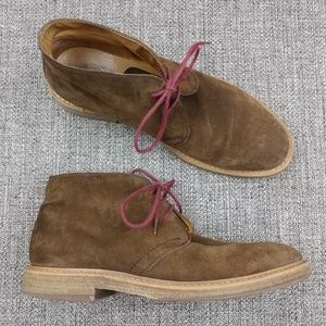 023d67aa5476c 1901 Canyon Suede Leather Chukka Boots Size 10M